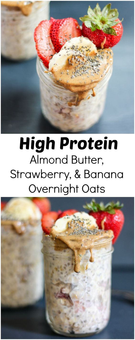 This protein packed overnight oats recipes is a great start to your day if you are trying to lose weight. It will also keep you full until lunch.